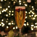 Holiday Cranberry Champagne Cocktail Recipe