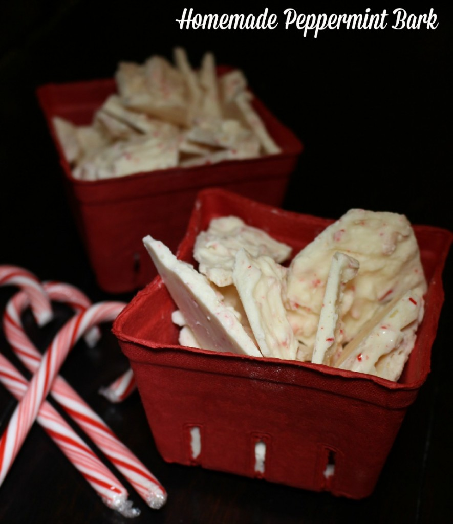 Homemade Peppermint Bark