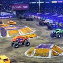 Father and Son Time at Monster Jam