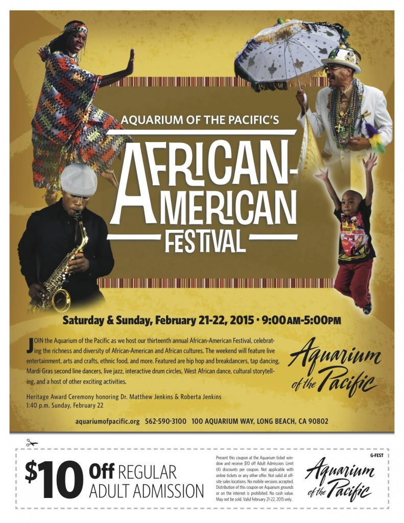 African-American Festival Flyer 2015