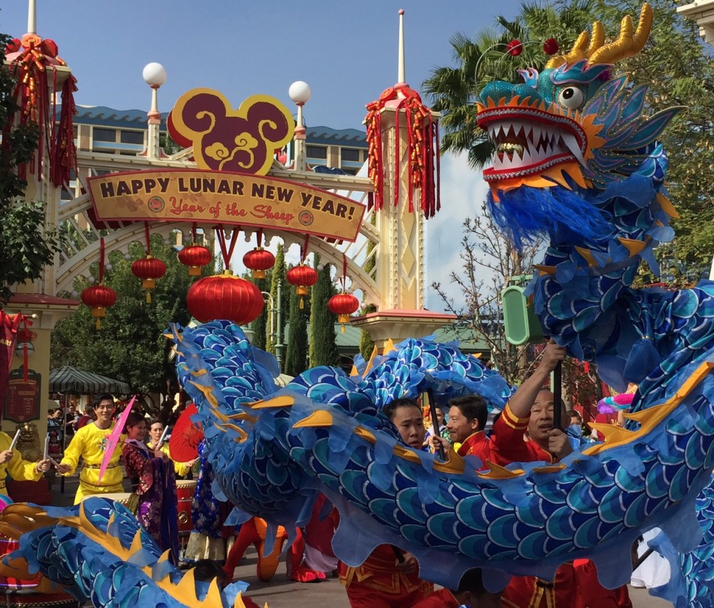Disneyland Lunar New Year 4