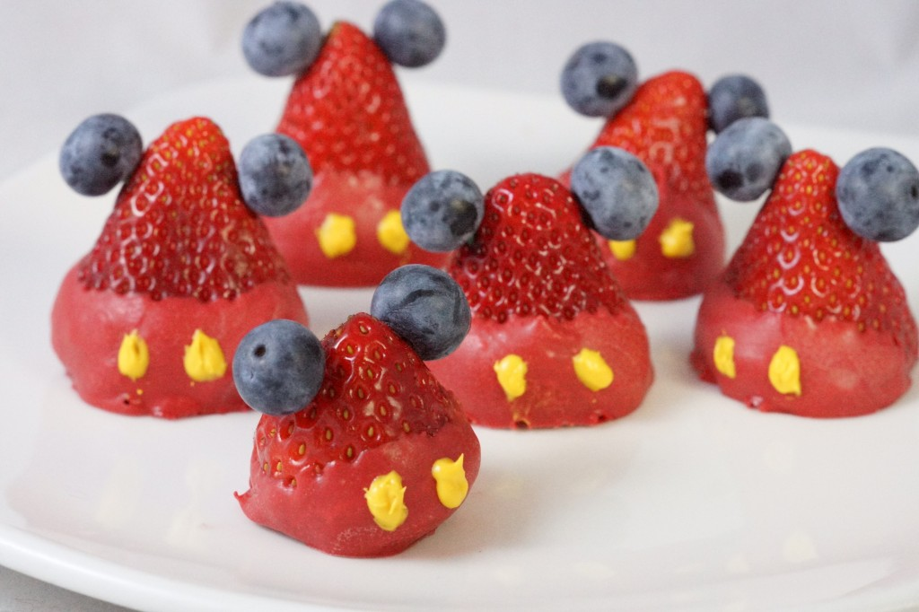Mickey Mouse Strawberries 3