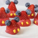 Mickey Mouse Chocolate Dipped Strawberries