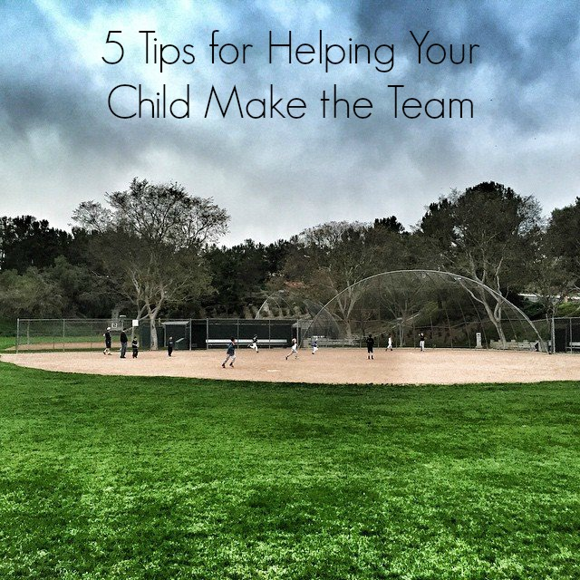 tips for helping kids at tryouts