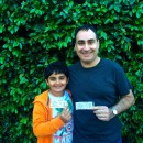 Father and Son Fun at Marvel Universe Live