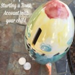 Four Tips for Starting a Bank Account with your child