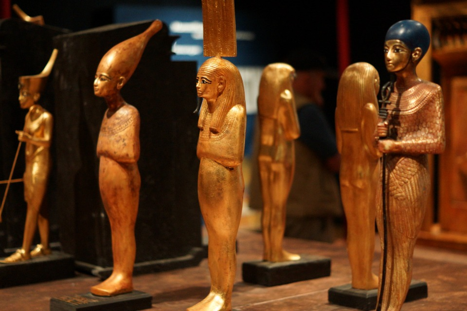 King Tut Exhibit 9