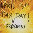 Tax Day Freebies and Deals for 2015
