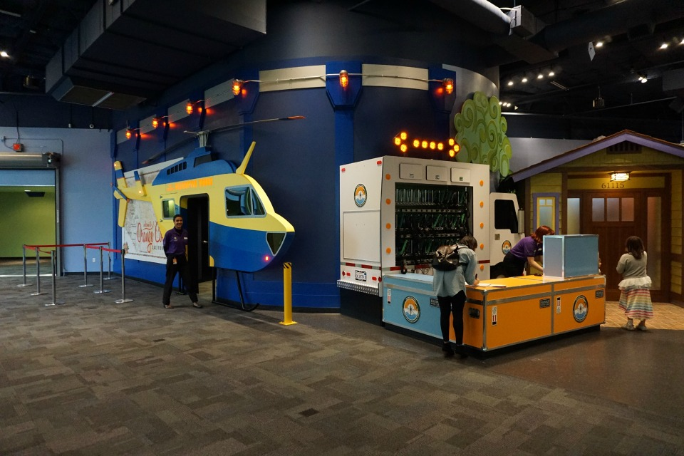 Second floor of the expansion at #DiscoveryCubeMoms #DiscoveryCubeOC