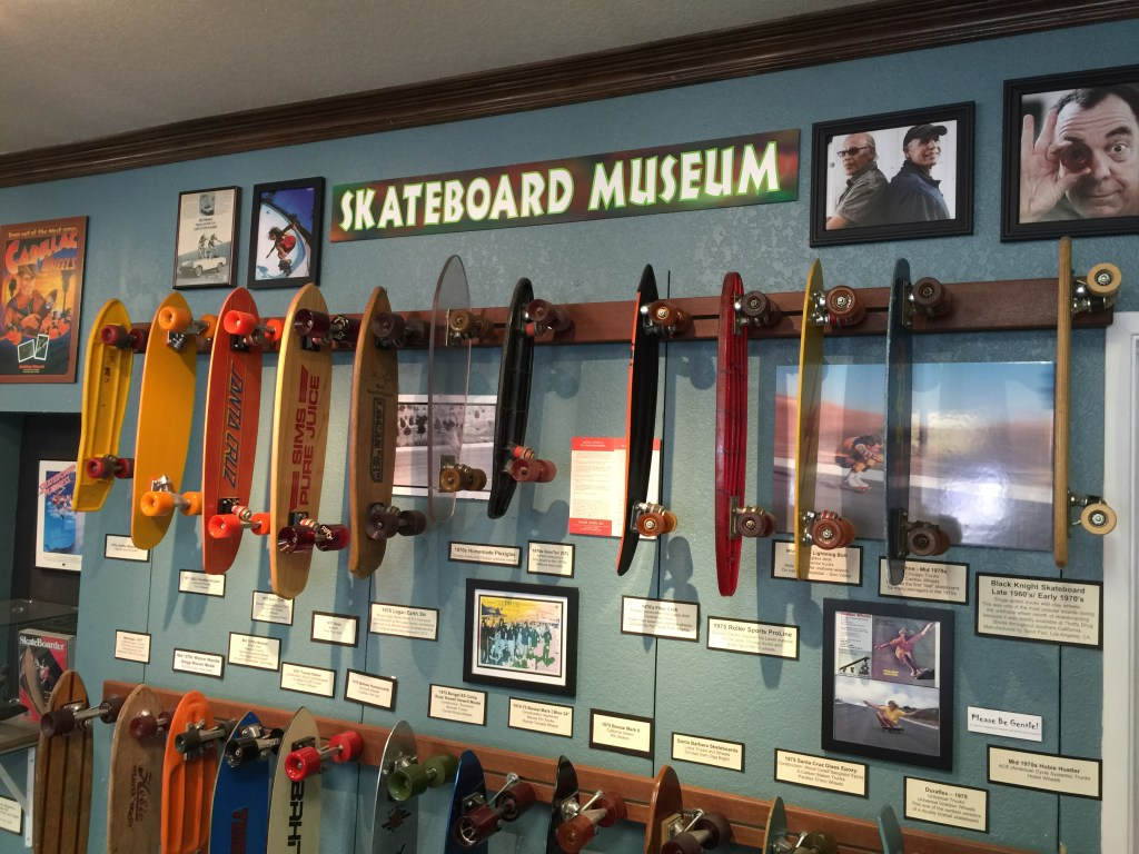 Skateboard Museum in Morro Bay