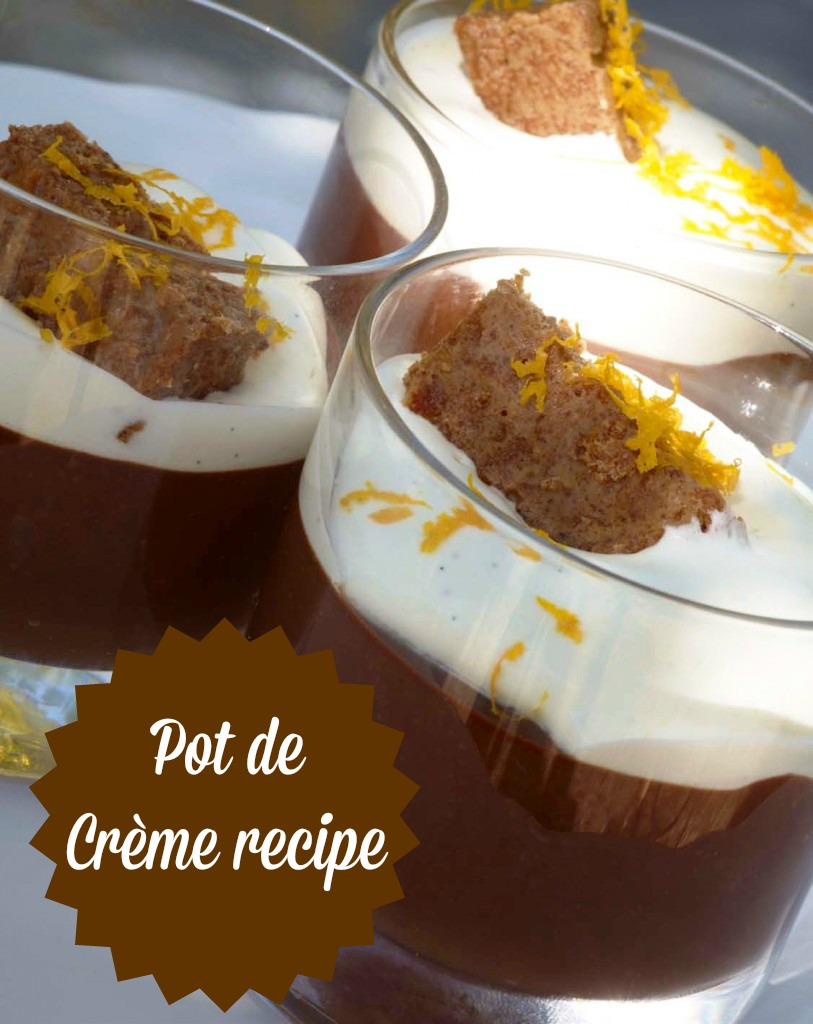 Fig & Olive Signature Chocolate Pot de Crème recipe | OC Mom Blog