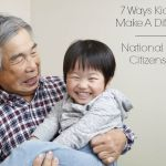 7 Ways Kids Can Make A Difference On National Senior Citizens Day