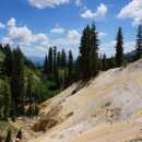 Sulphur Works Trail in the Lassen Volcanic National Park