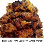 Quick and Easy Moroccan Spiced Wings