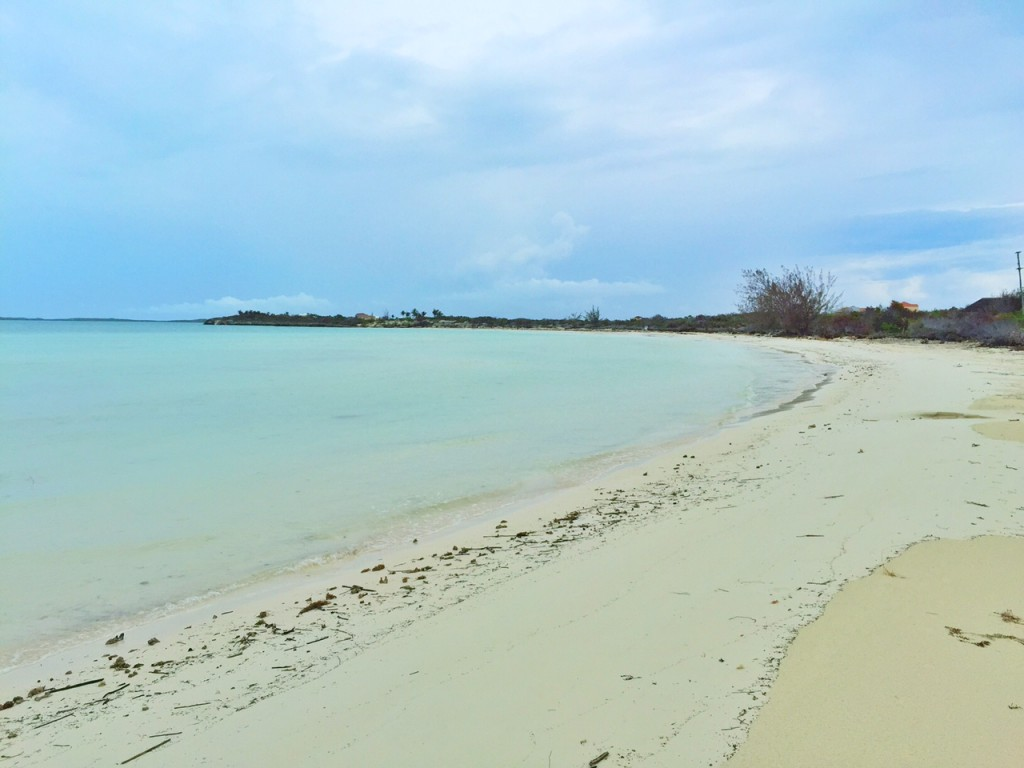 Beautiful Taylor Bay in the Turks and Caicos