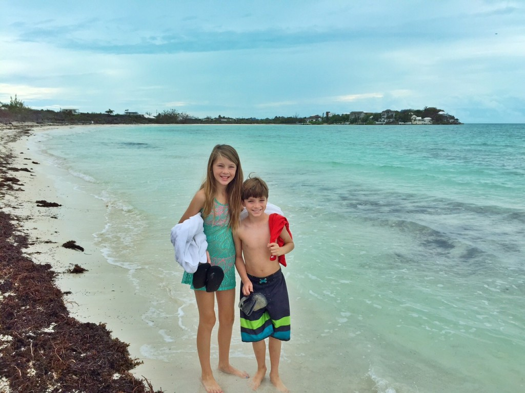 Tyler and Ella in the Turks and Caicos