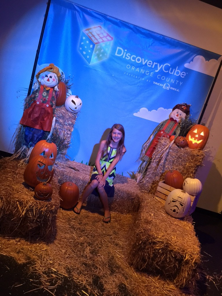 Spooky Science Photo opportunity #DiscoveryCubeMoms