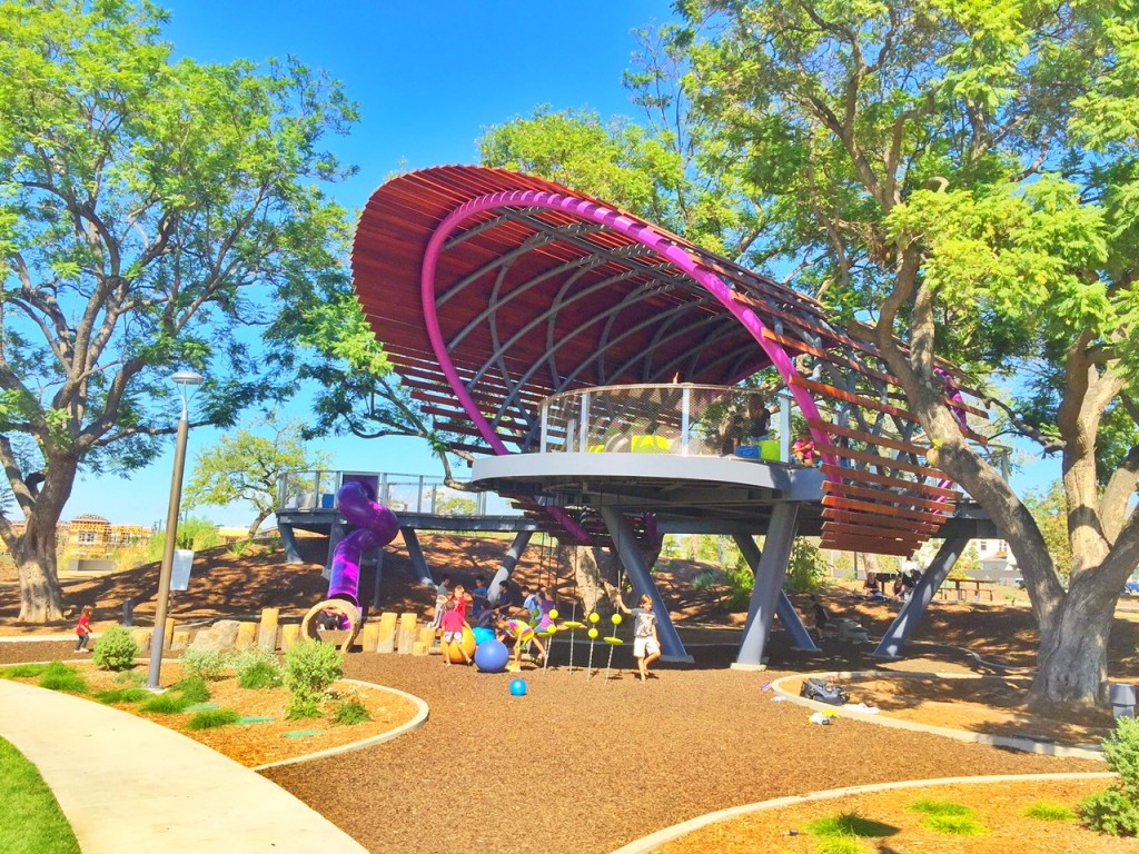 Tree House Park at Beacon Park in Irvine