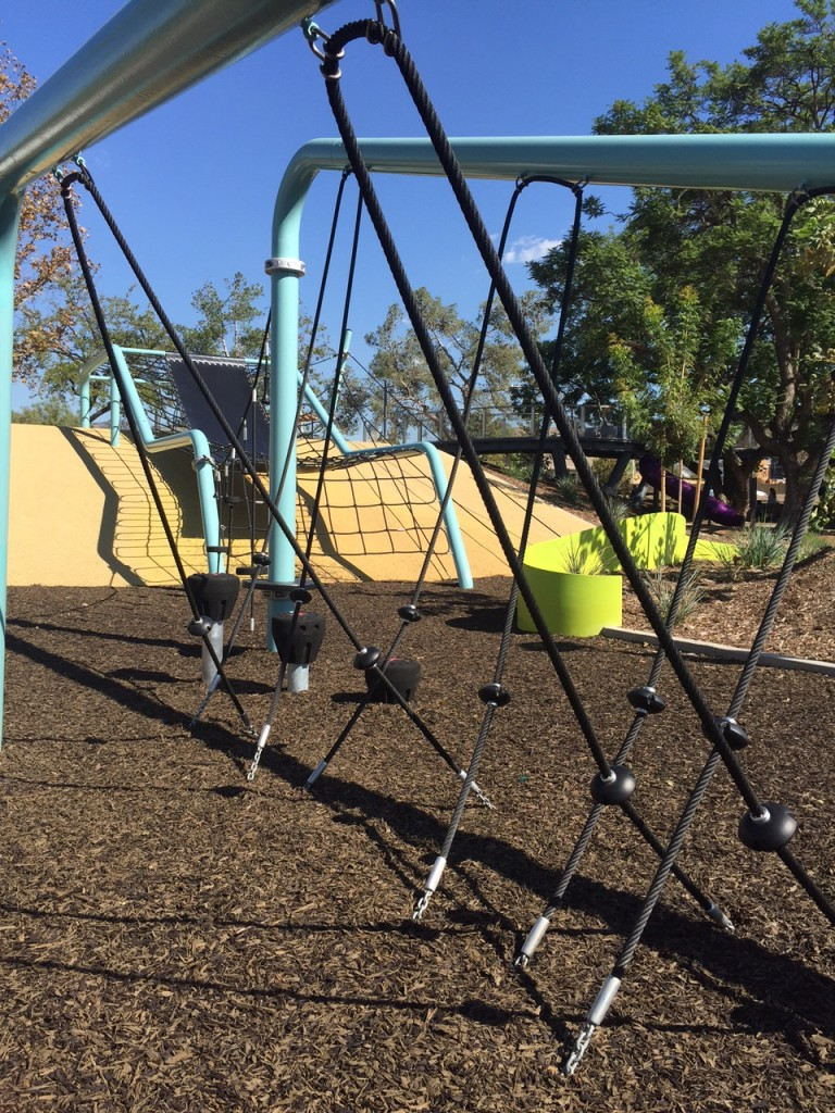 Obstacle Course at Beacon Park Tree House Park in Irvine