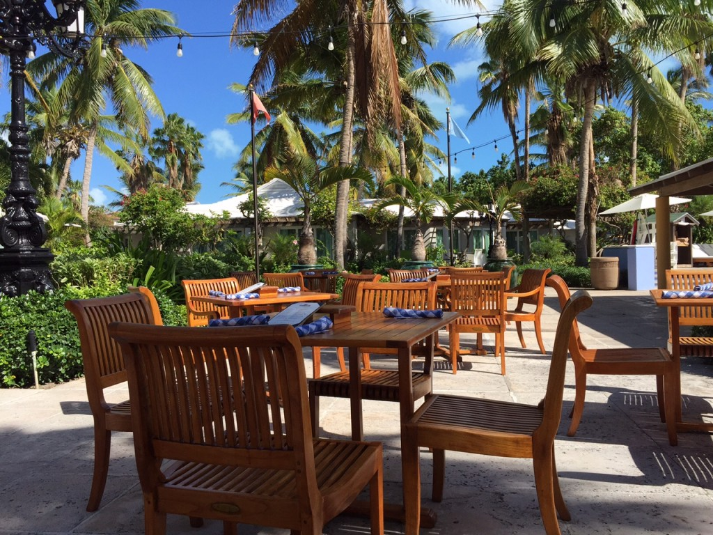Bella Napoli Pizzeria dining patio at Beaches Turks and Caicos