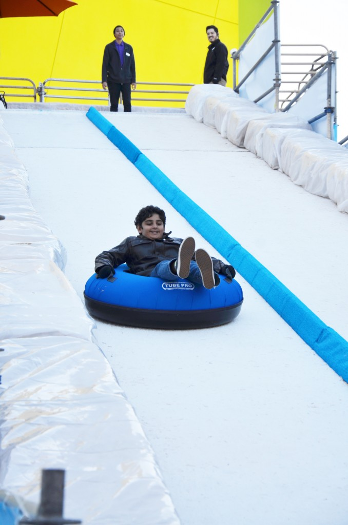 Tubing at Discovery Cube OC
