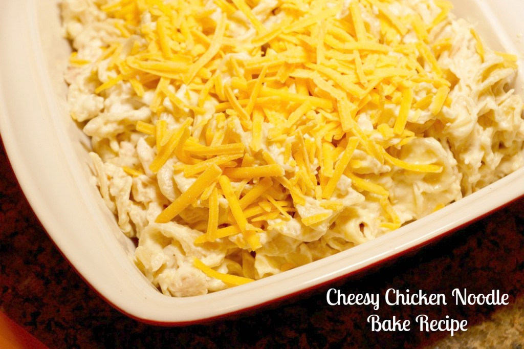 Cheesy Chicken Noodle Bake Recipe