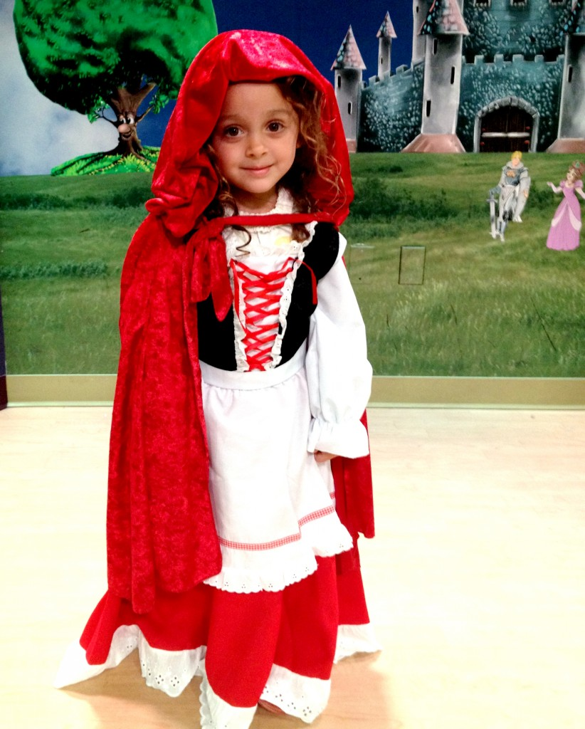 Little Red Riding Hood at Pretend City Children's Museum