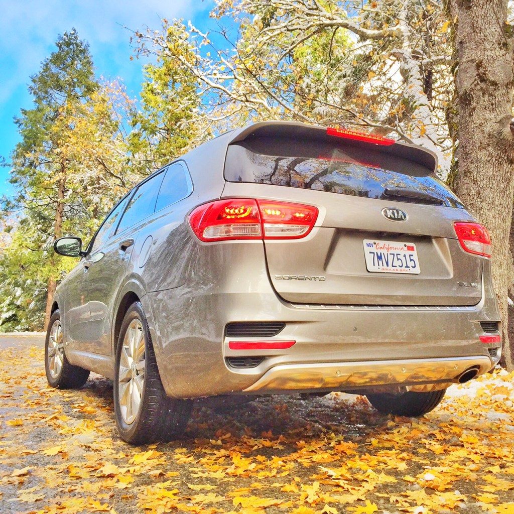 Kia Sorento in the Fall
