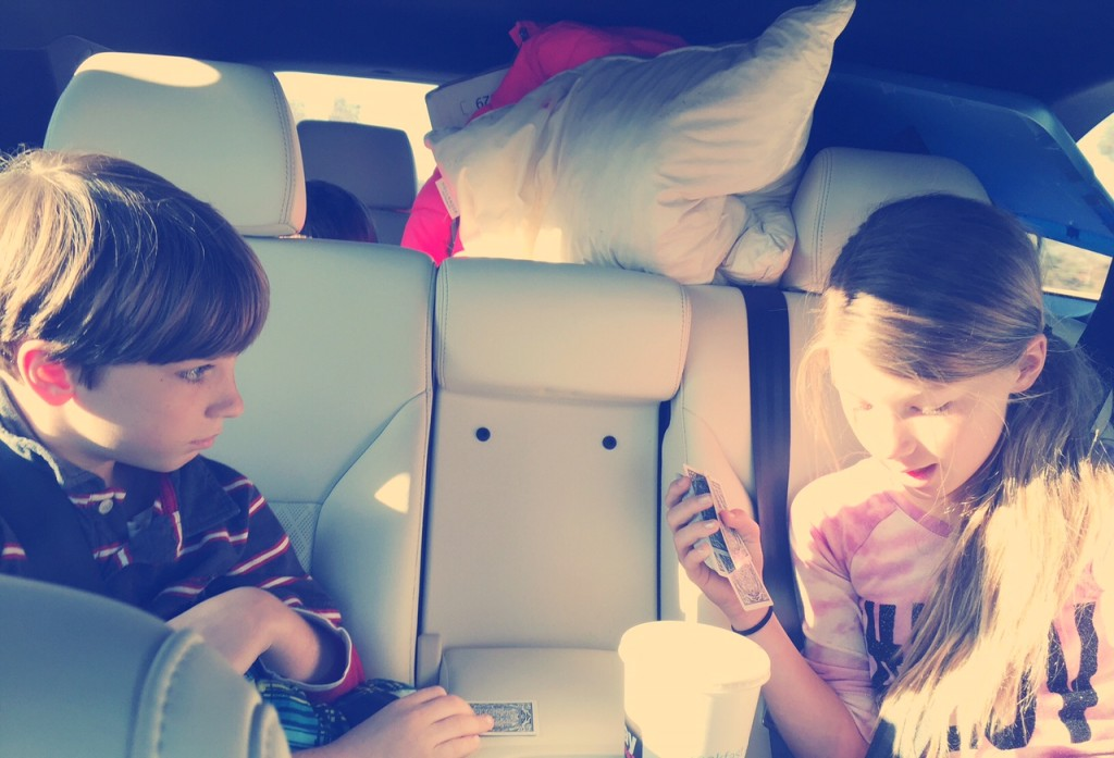 Playing Cards in the Kia Sorento