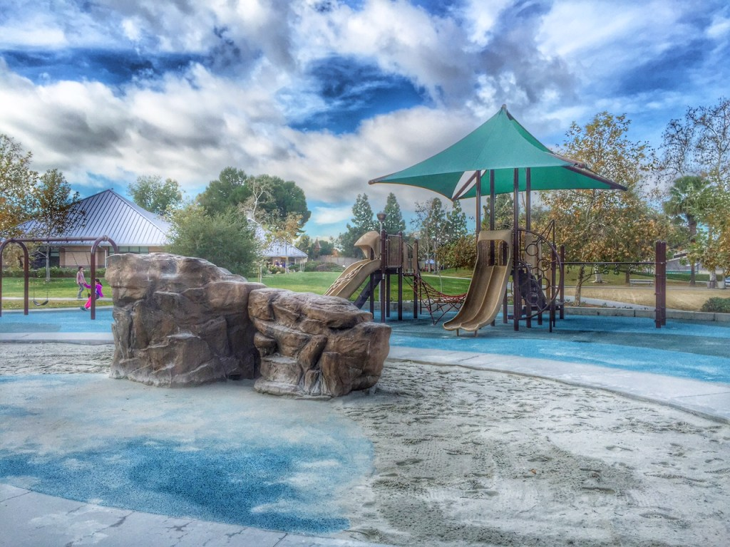 Rock Wall and Playstructure in Irvine