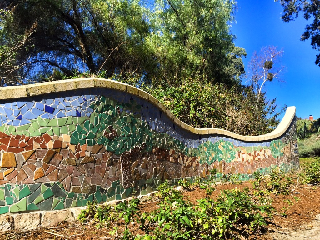Art along Oso Creek Trail