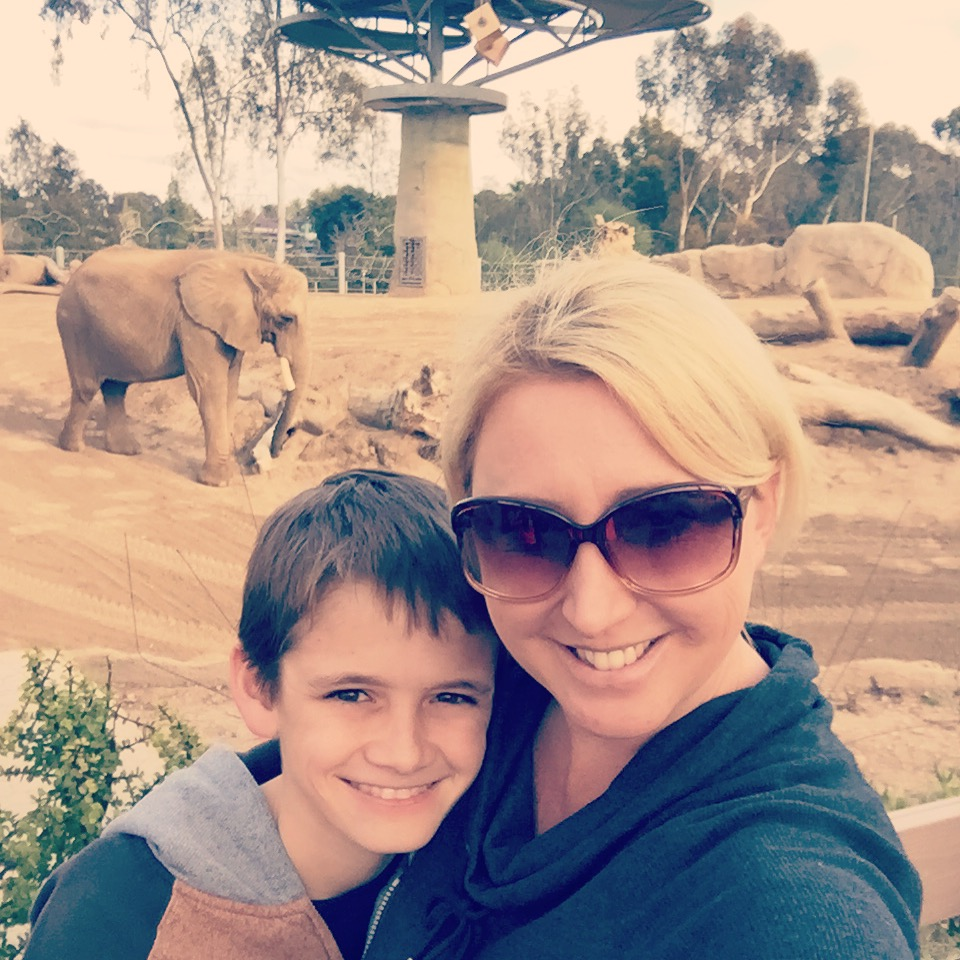 At the San Diego Zoo