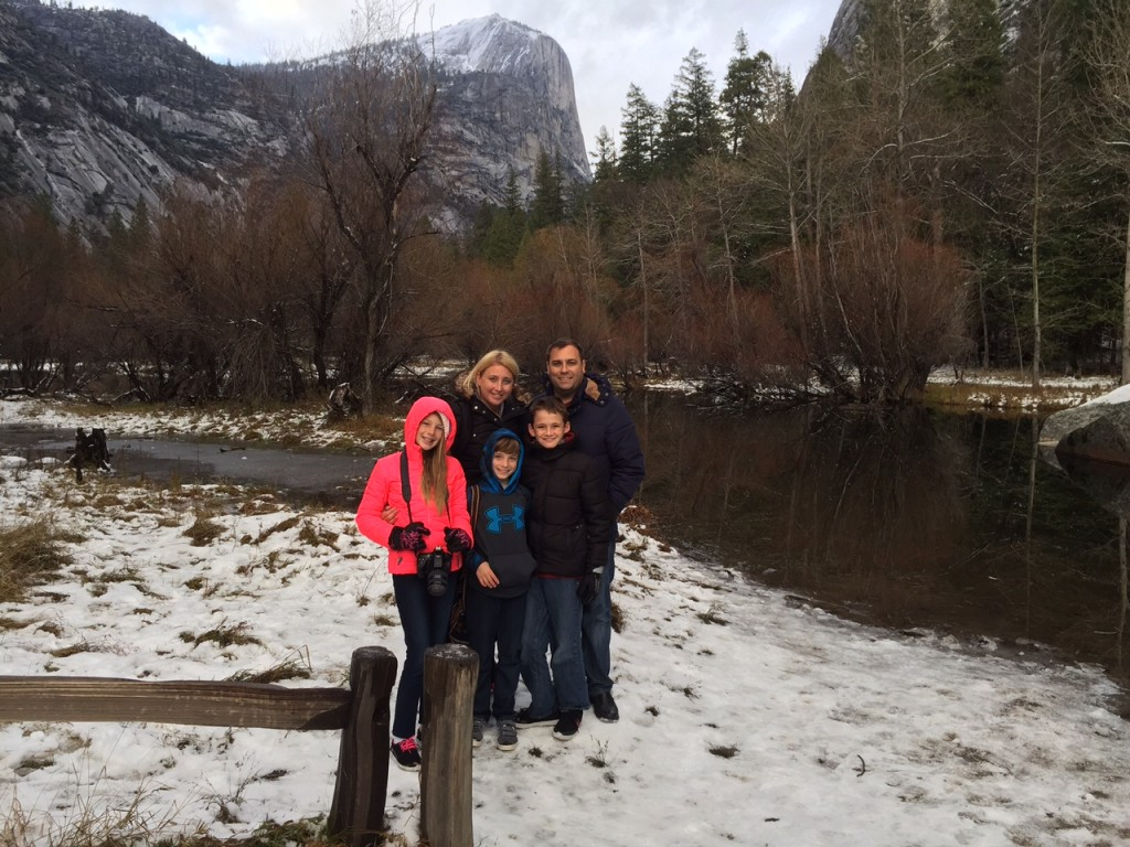 Barone Family in Yosemite