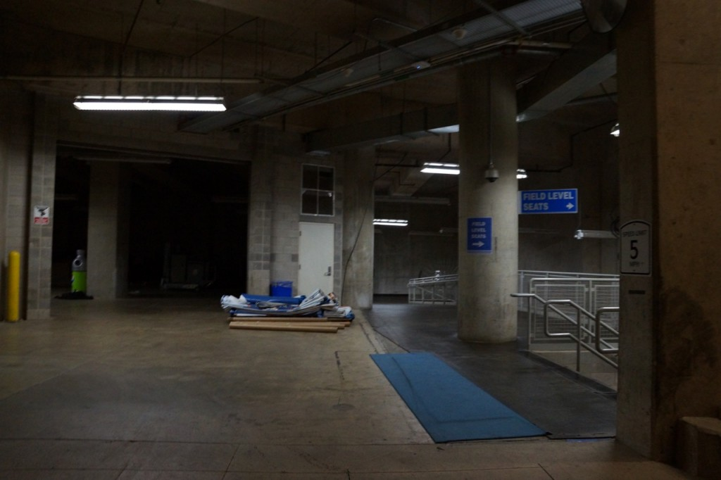 Ford Field Tunnels