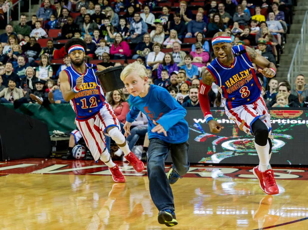 Harlem Globetrotters at the Honda Center
