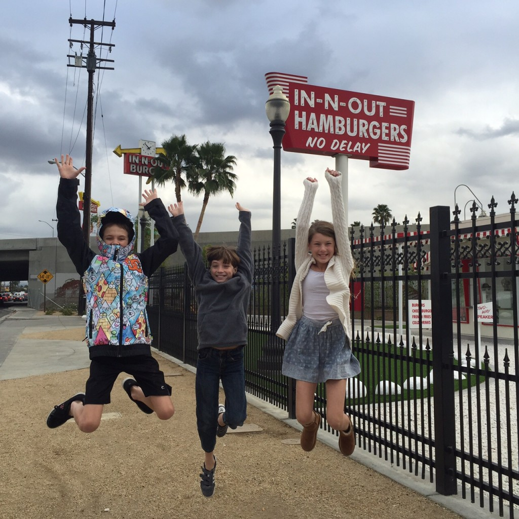 Kids excited to tour in-n-out