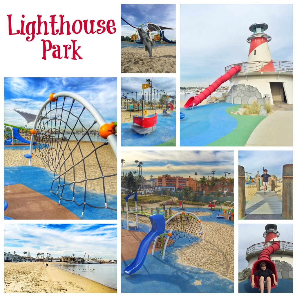 Lighthouse Park - Marina Park in Newport Beach