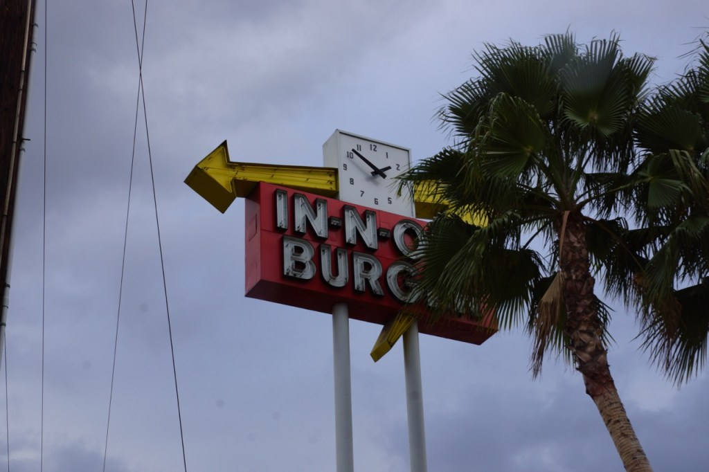 Original In-n-out sign