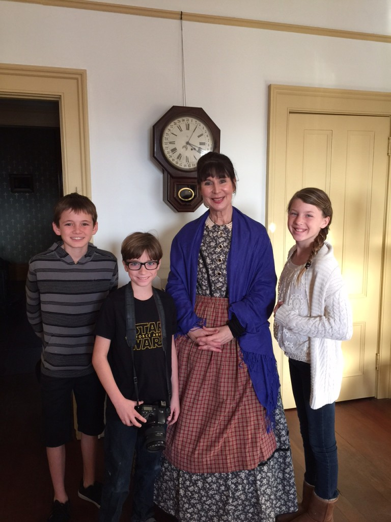 Touring the Whaley House