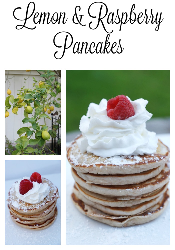 Lemon and Raspberry Pancake Recipe