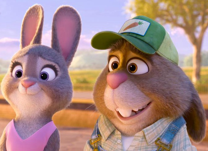 The parents in Zootopia