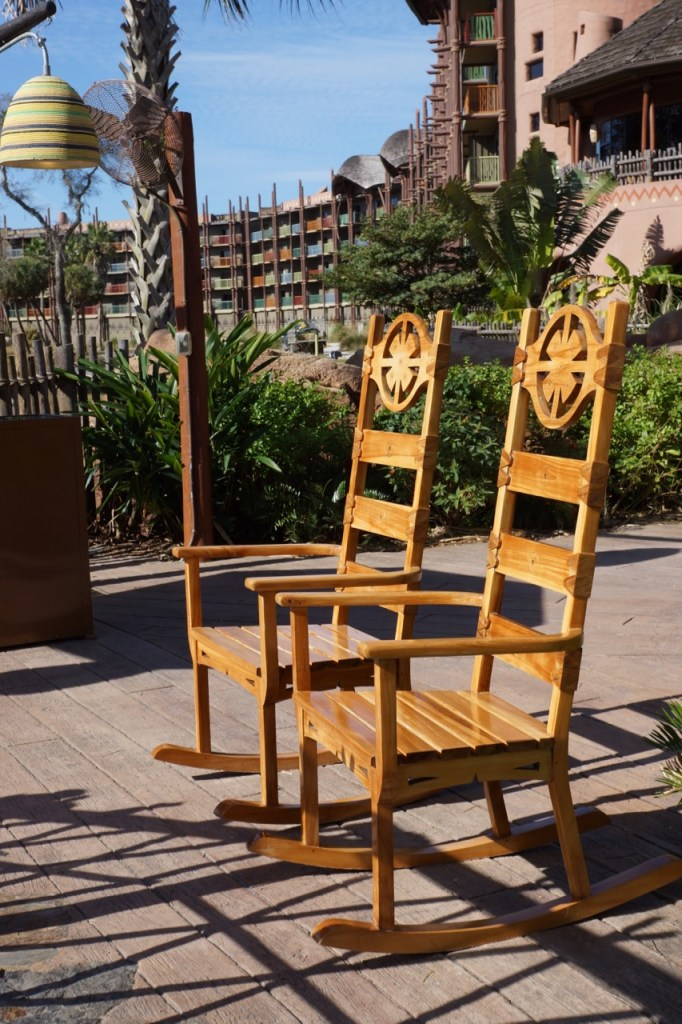 chairs to watch animals in animal kingdom