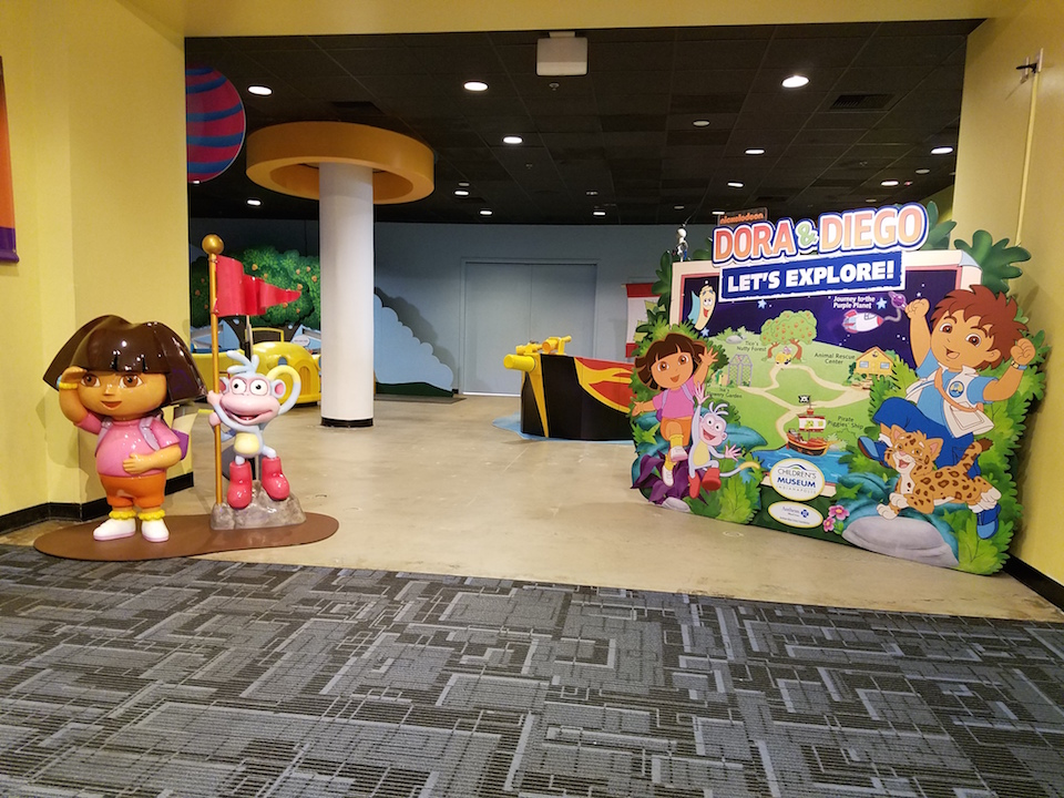 Discovery Cube OC Dora and Diego Exhibit