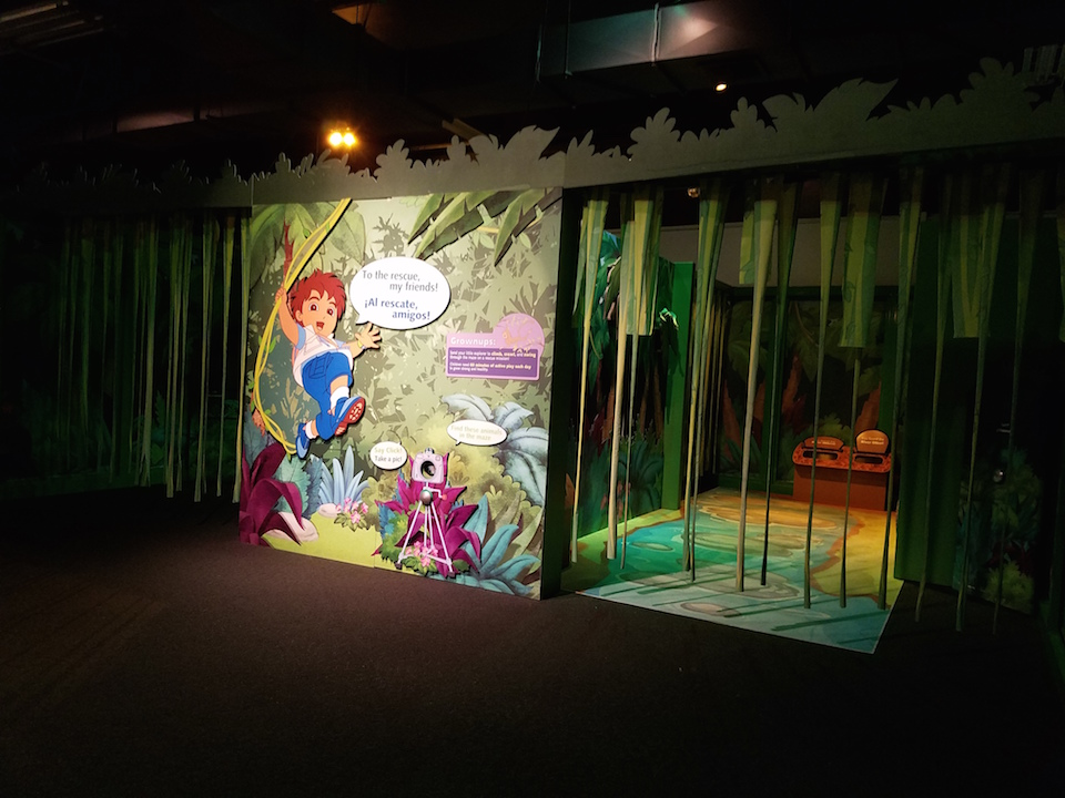Exploring the Dora and Diego Exhibit