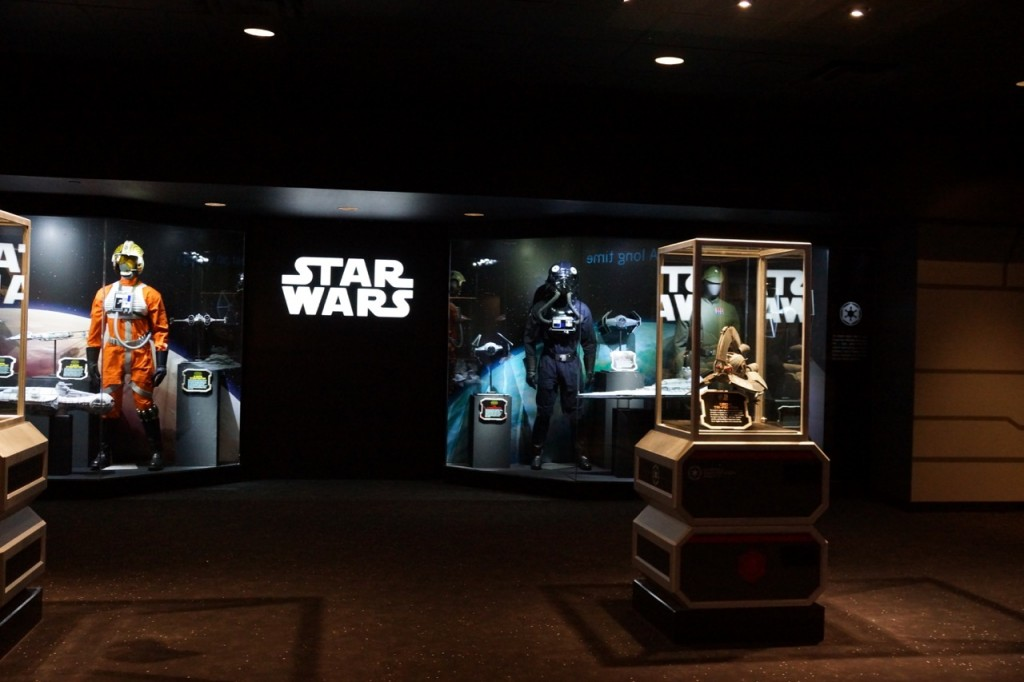 Inside of Star Wars Launch Bay