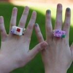 DIY LEGO Friends Friendship Rings