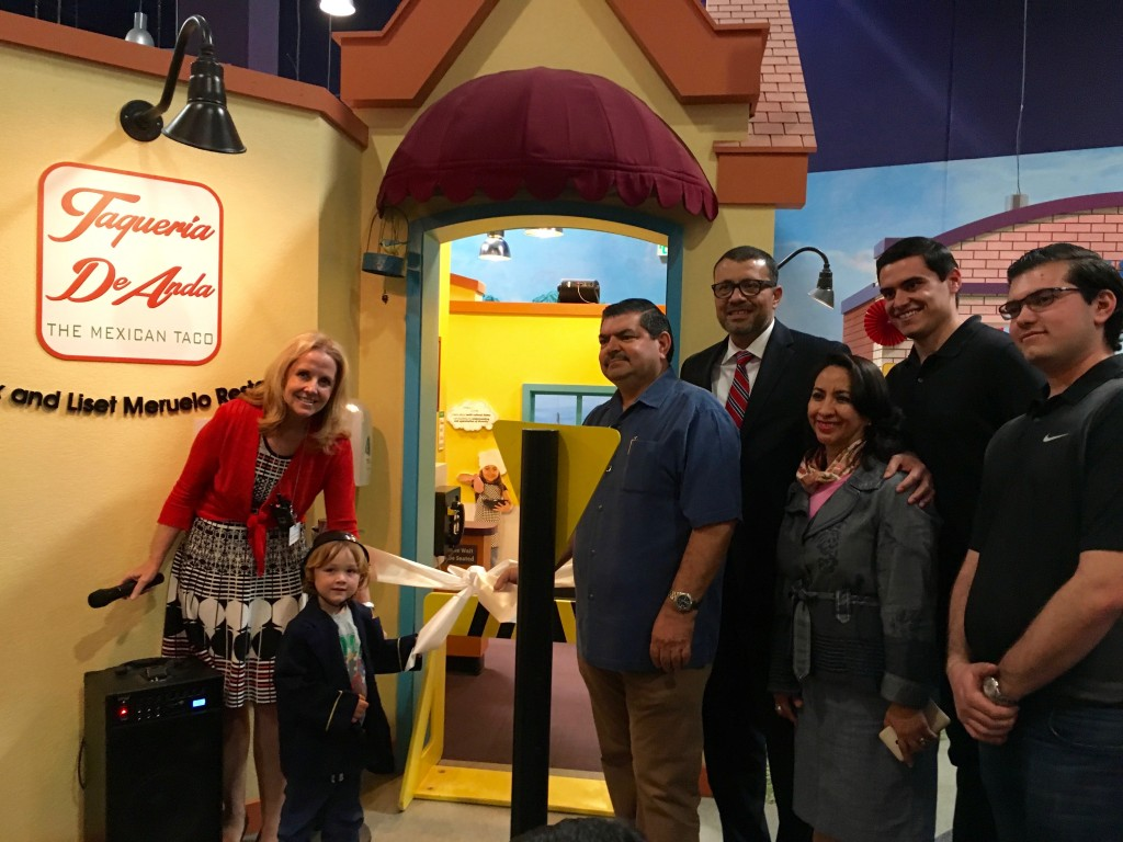 Opening of new Pretend City Cafe