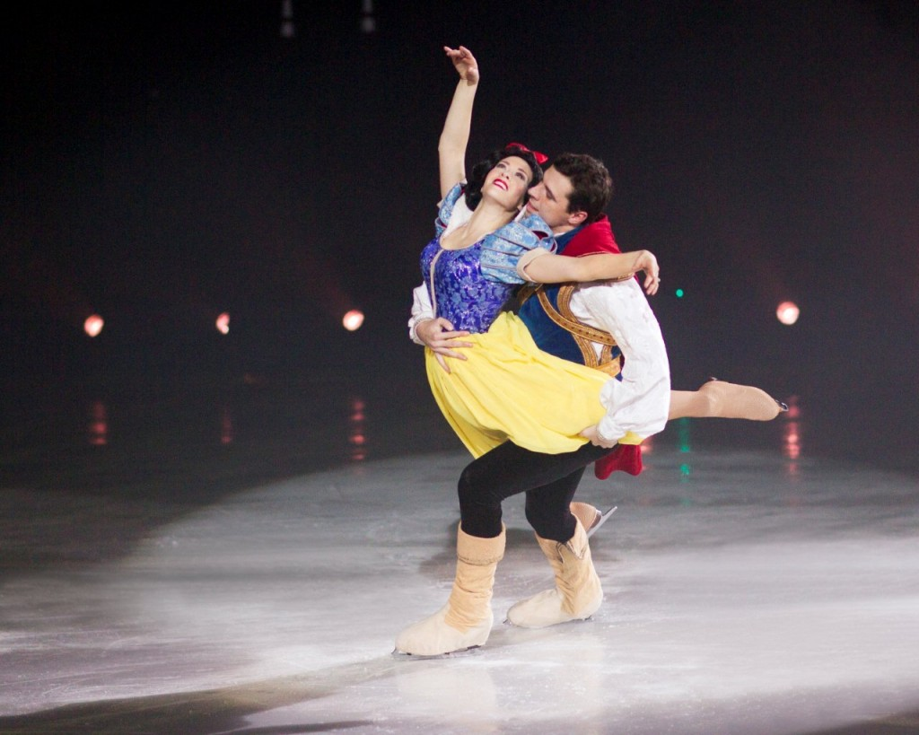 Snow White AND Prince in Disney on Ice