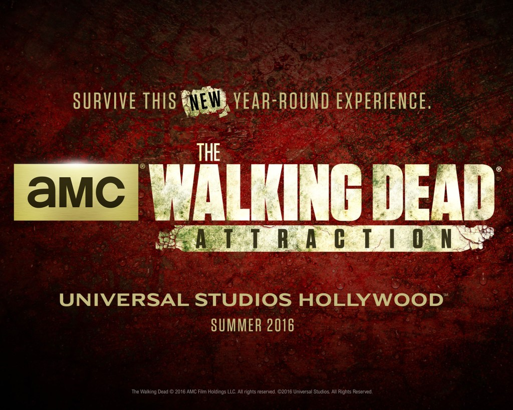 TWD attraction at USH - teaser art