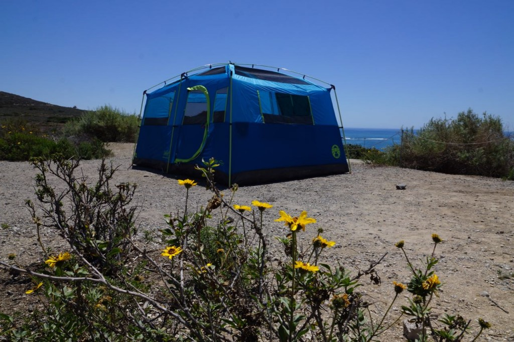 Camping at Crystal Cove